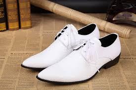 wedding shoes mens cheap 2016 fashion new white groom wedding shoes oxford classic