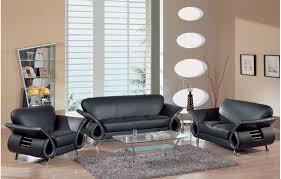 contemporary leather living room furniture cómo embellecer su living room con muebles de cuero negro diseño