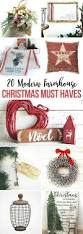 20 modern farmhouse christmas must haves to get or give this