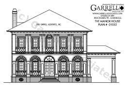 Classic Home Plans Manor House Plan House Plans By Garrell Associates Inc