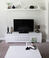 Living Room Tv Table Minimalist Tv Stand And Cabinet Ikea Besta Interiors Design