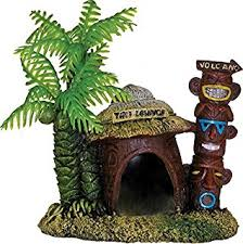 penn plax tiki ornament 3 5 aquarium decor
