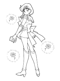 sailor mercury coloring page coloring pages of epicness