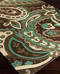 Area Rugs Turquoise Area Rugs With Turquoise And Brown Roselawnlutheran Pertaining To