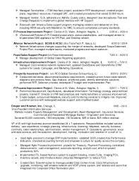 executive director resume samples technical project manager online