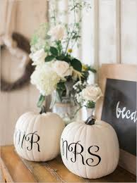 White Ceramic Pumpkin Centerpiece by Best 25 Fall Wedding Decorations Ideas On Pinterest Country