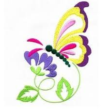 applique butterfly dreams machine embroidery 1