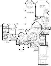 Luxurious House Plans Luxury Ranch Estate House Plan Lacrysta First Floor Plan