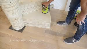 Laminate Flooring For Stairs Homemade Modern Ep99 Diy Cnc Spiral Staircase