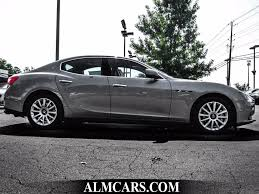 maserati ghibli black 2014 used maserati ghibli 4dr sedan at alm gwinnett serving duluth