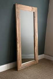 rustic wood floor mirror choice image home flooring design