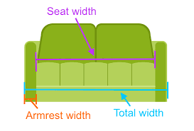 Standard Size Of A Sofa Couch Size Couch Size Gorgeous Couch Sizeslayout Dimensions Home