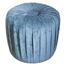 Target Ottoman Pouf Pleated Ottoman Stool Mermaid Blue Target
