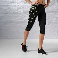 reebok spartan short bra orange womens clothing reebok short
