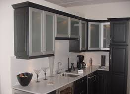 Latest Frosted Glass Kitchen Cabinet Doors Design Frosted - Kitchen cabinets with frosted glass doors
