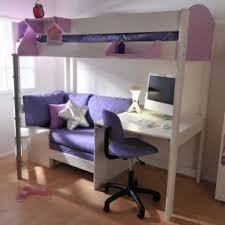 Metal Bunk Bed With Desk Foter - Futon bunk bed frame