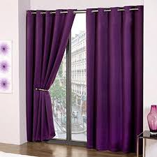 Purple Thermal Blackout Curtains by Purple Thermal Blackout Supersoft Eyelet Ring Top Ready Made