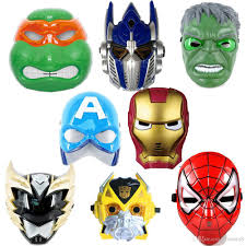Gifts Halloween Online Cheap Captain America Iron Man Spiderman Batman Luminous