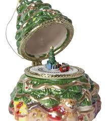 Mr Christmas Ornament - music box ornaments musical christmas ornaments