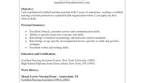 resume job description cna nursing assistant job description for resume writing certified