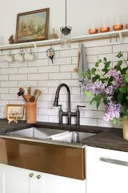 how to install farm sink in cabinet diy install an apron front sink with a butcher block