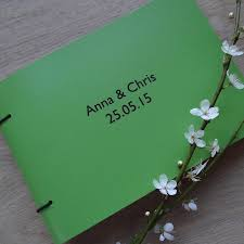leather photo albums engraved engraved leather wedding album by artbox notonthehighstreet