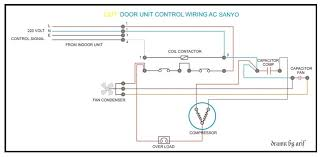 sanyo outdoor wiring refrigeration u0026 air conditioning