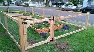 Diy Garden Fence Ideas Cheap Vegetable Garden Fencing Ideas