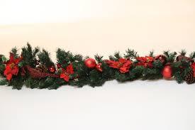 decorated christmas garlands u2013 happy holidays