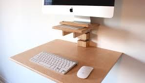 wall mounted standing desk imac model u2013 gereghty desk co