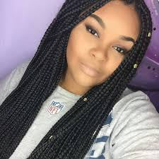 grey and purple combined together style box breads 80 fancy box braids styles how to enhance the beauty