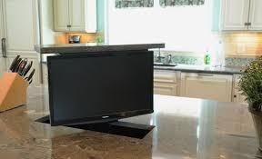 kitchen television ideas kitchen counter tv decoration