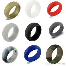 jewelry rubber rings images Fashion silicone wedding rings women s hypoallergenic o ring band jpg