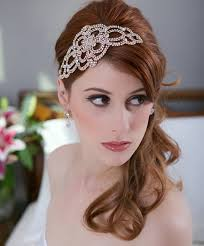 wedding hair bands glam bridal hair accessories weddings romantique