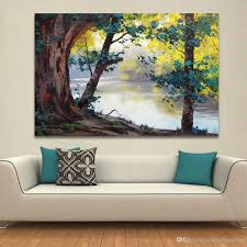 living room canvas 2018 landscape painting home decor wall pictures for living room