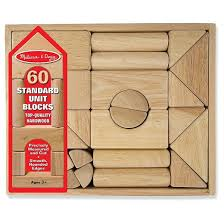 doug standard unit solid wood building blocks with