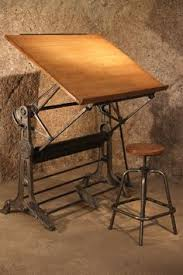 Studio Rta Drafting Table The Classic Design Of This Vintage Drafting Table Is Reminiscent