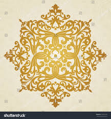 vector baroque ornament victorian style ornate stock vector