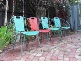 Outdoor Metal Chairs Outdoor Fabiano