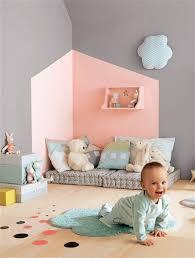 astuce déco chambre bébé astuce déco les effets de peinture dans la chambre d enfant
