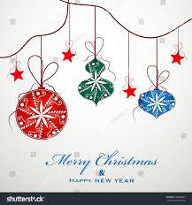 merry celebration greeting card invitation stock vector