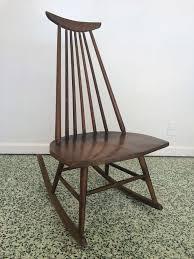 danish modern mid century rocking chair at 1stdibs