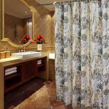 High End Fabric Shower Curtains Elegant Gray Ivory Floral Luxury Shower Curtains Ivory And Luxury