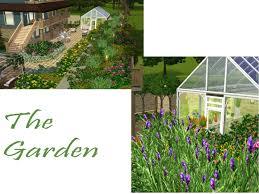 sims 3 garden ideas 5837