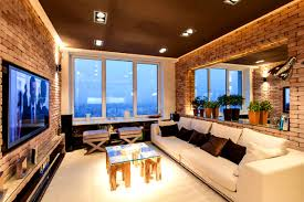 apartments scenic contemporary model residence interior design