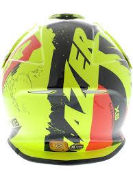 lazer motocross helmets lazer yellow fluorescent black red x8 whip mx helmet lazer