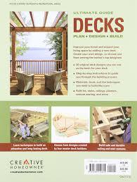 ultimate guide decks 4th edition plan design build home