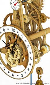 woodworking plans wooden clock plans free dxf pdf plans