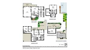 balmain waterfront holiday house floor plans sydney beach living