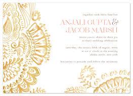 mehndi invitation wedding invitations julep